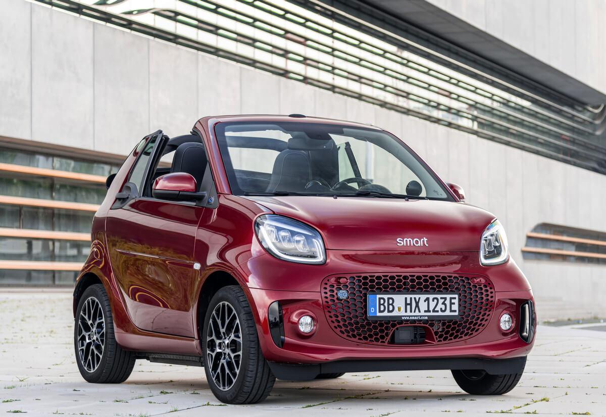Smart EQ fortwo prime cabrio A453