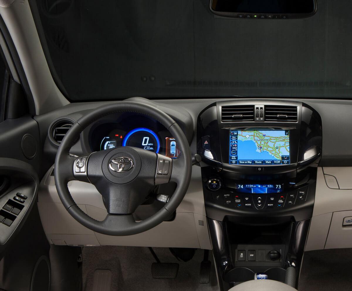 Toyota RAV4 EV Interior 2012 2013 2014
