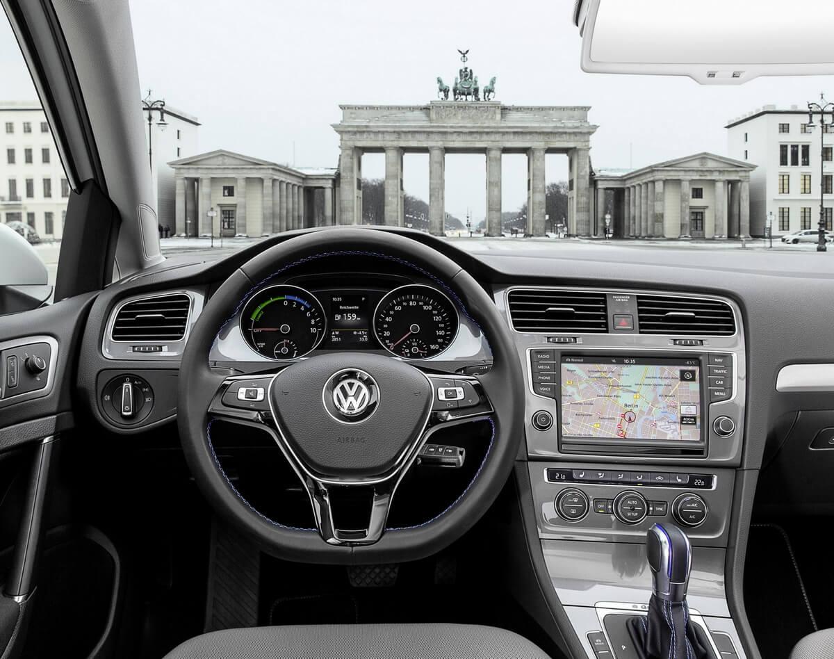 Volkswagen e-Golf 2014 2015 2016 Interior