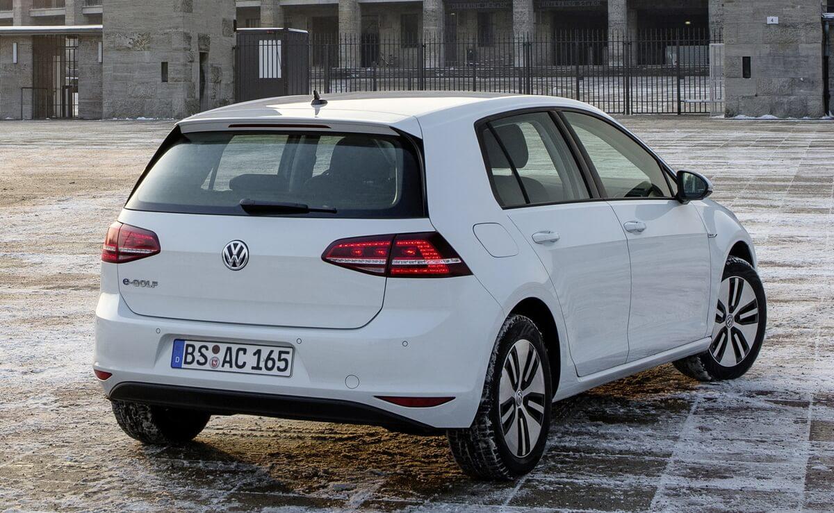 Volkswagen e-Golf 2014 2015 2016 Rear