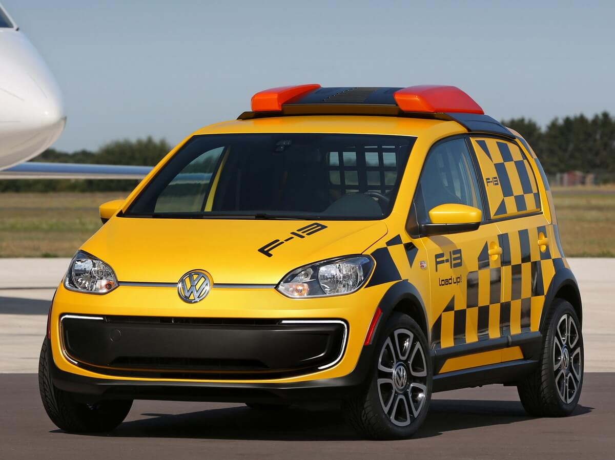 Volkswagen e-load up Follow me