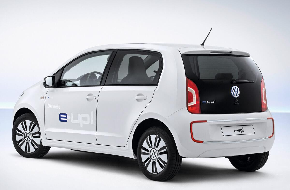 Volkswagen e-Up 2013 2014 2015 Rear
