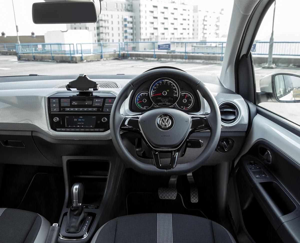 Volkswagen e-Up 2016 2017 2018 2019 Interior UK