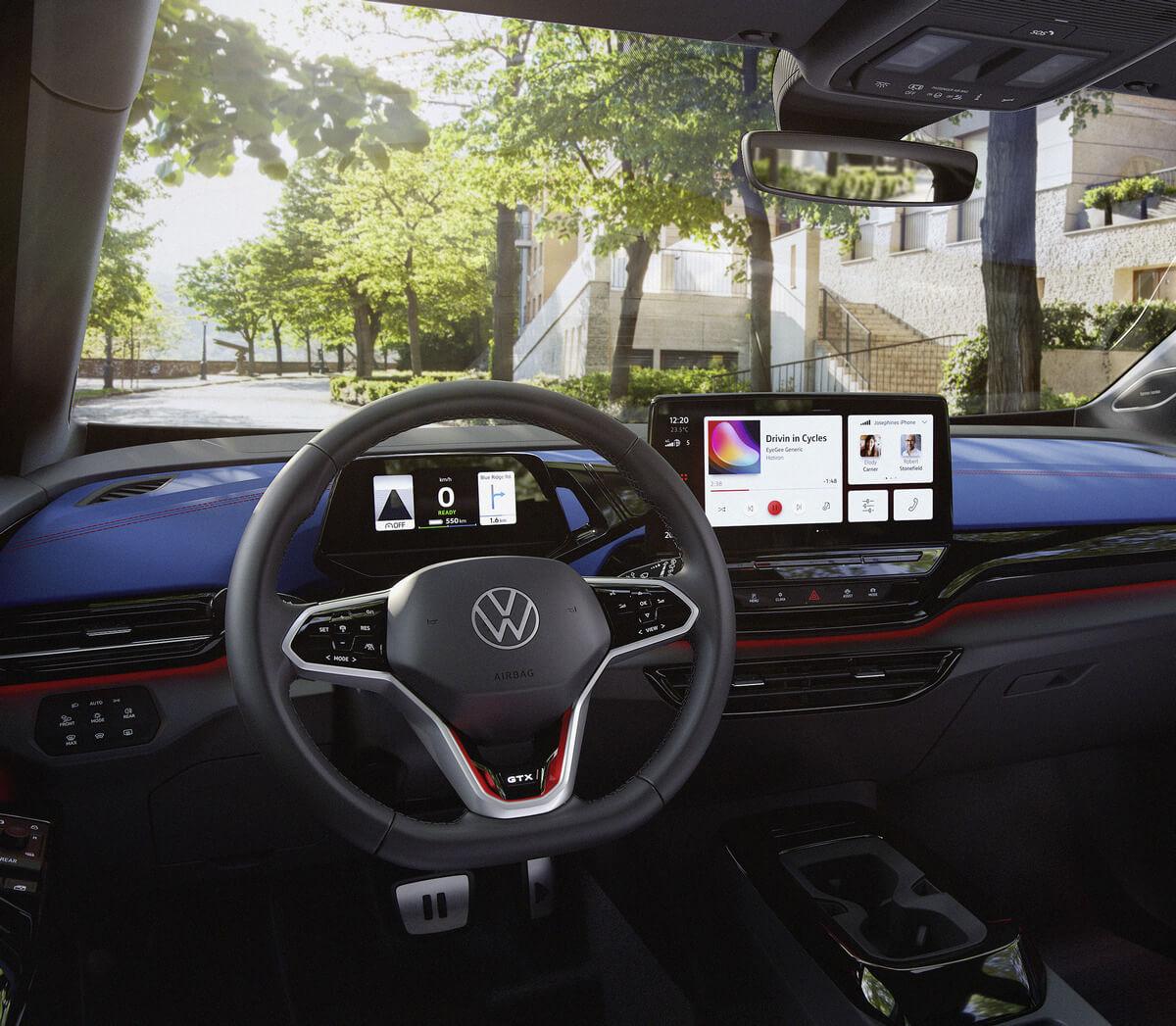 Volkswagen ID.4 GTX Interior