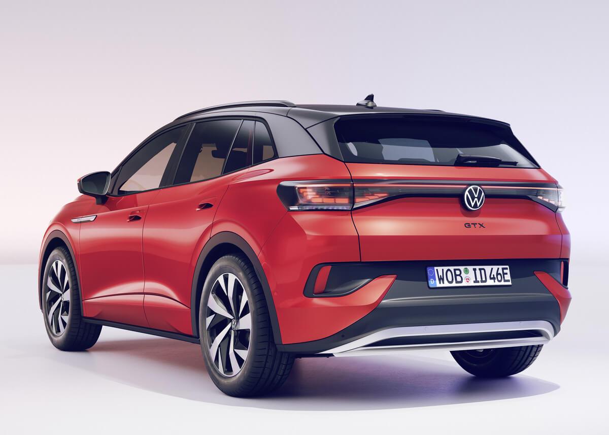 Volkswagen ID.4 GTX Rear